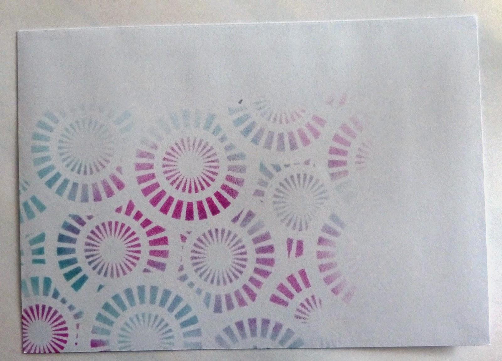 Briefpapier Gestalten : Jennyskreativewelt briefpapier und umschlag mit