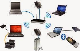 Jaringan Wireless LAN atau Nirkabel uniks harianja