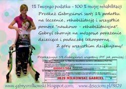 1 % podatku dla Gabrysia