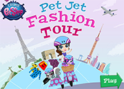 LPS Pet Jet Fashion Tour