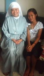 Sister Flordeliza Serado HSM and I