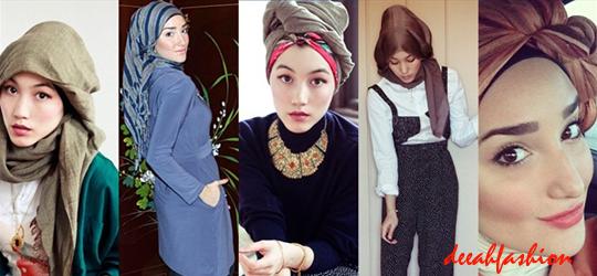 Jilbab Modern Urban Hijab Style 2014