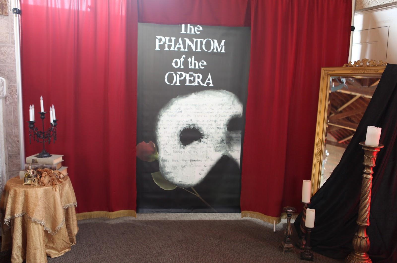The Phantom Of The Opera Themed 50th Birthday Celebration Pcs