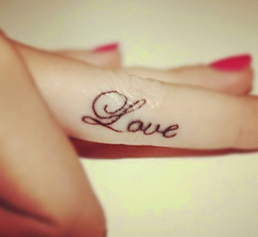 Love Tattoo Designs & ideas For Girls