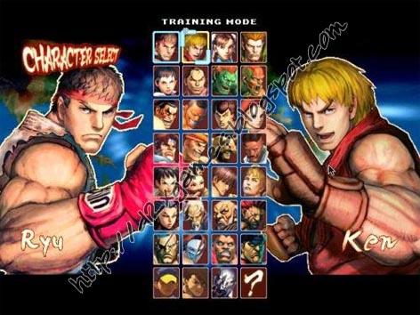 Free Download Games - Super Street Fighter IV MUGEN