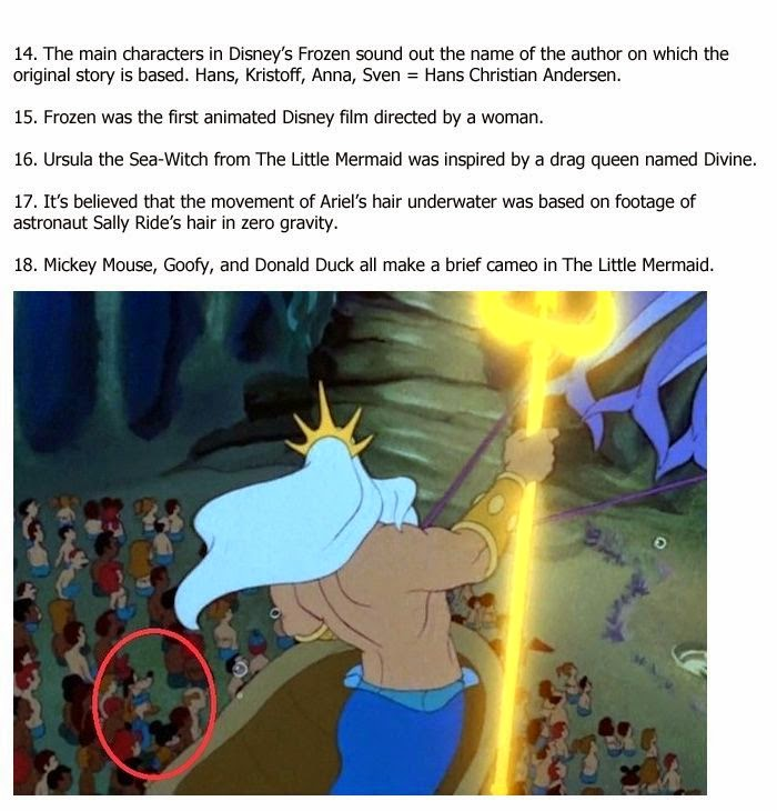 Disney You Re Amazing: Amazing Facts You Didn't Know About Disney Movies