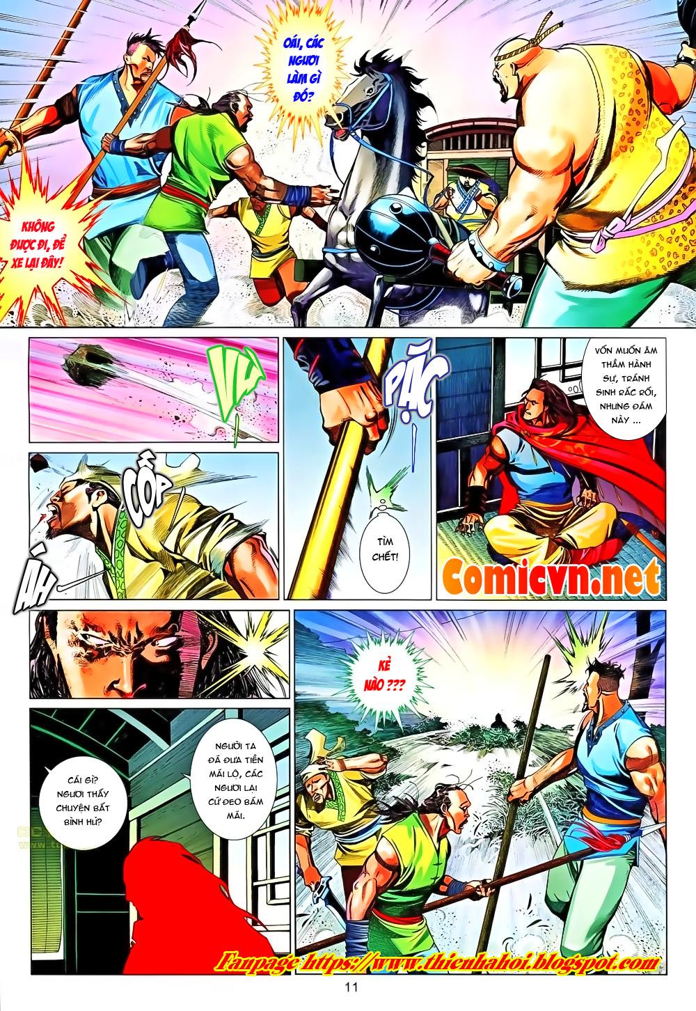 Phong Vân chap 651 Trang 11 - Mangak.info