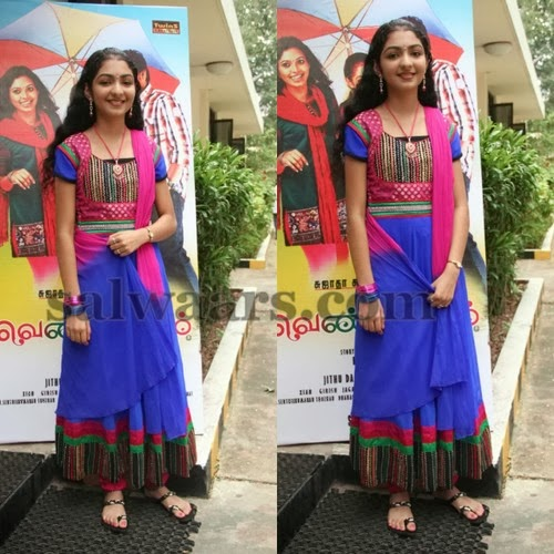 Jayashree Blue Salwar Kameez