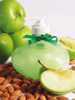 Sabonete líquido hidratante de maçã verde