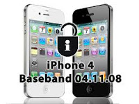 Unlock iPhone 4/4S Baseband 04.11.08