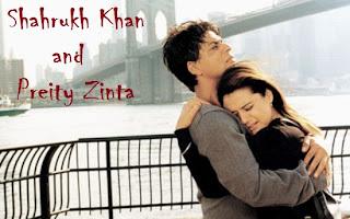 Foto Preity Zinta dan Shahrukh Khan