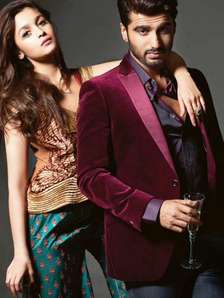 Alia Bhatt Arjun Kapoor Harpers Bazaar Photoshoot Stills ...