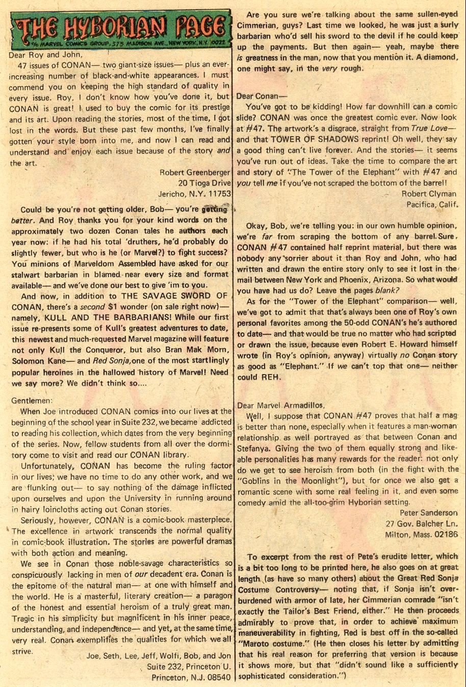 Conan the Barbarian (1970) Issue #51 #63 - English 21