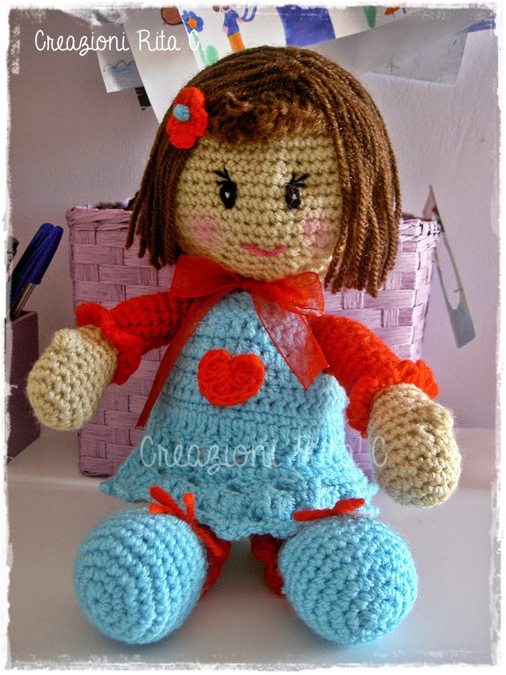 Creazioni Rita C. ... Only Handmade!: Le mie Bamboline ...