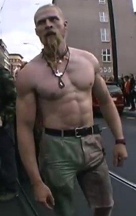 Techno Viking Beard Style
