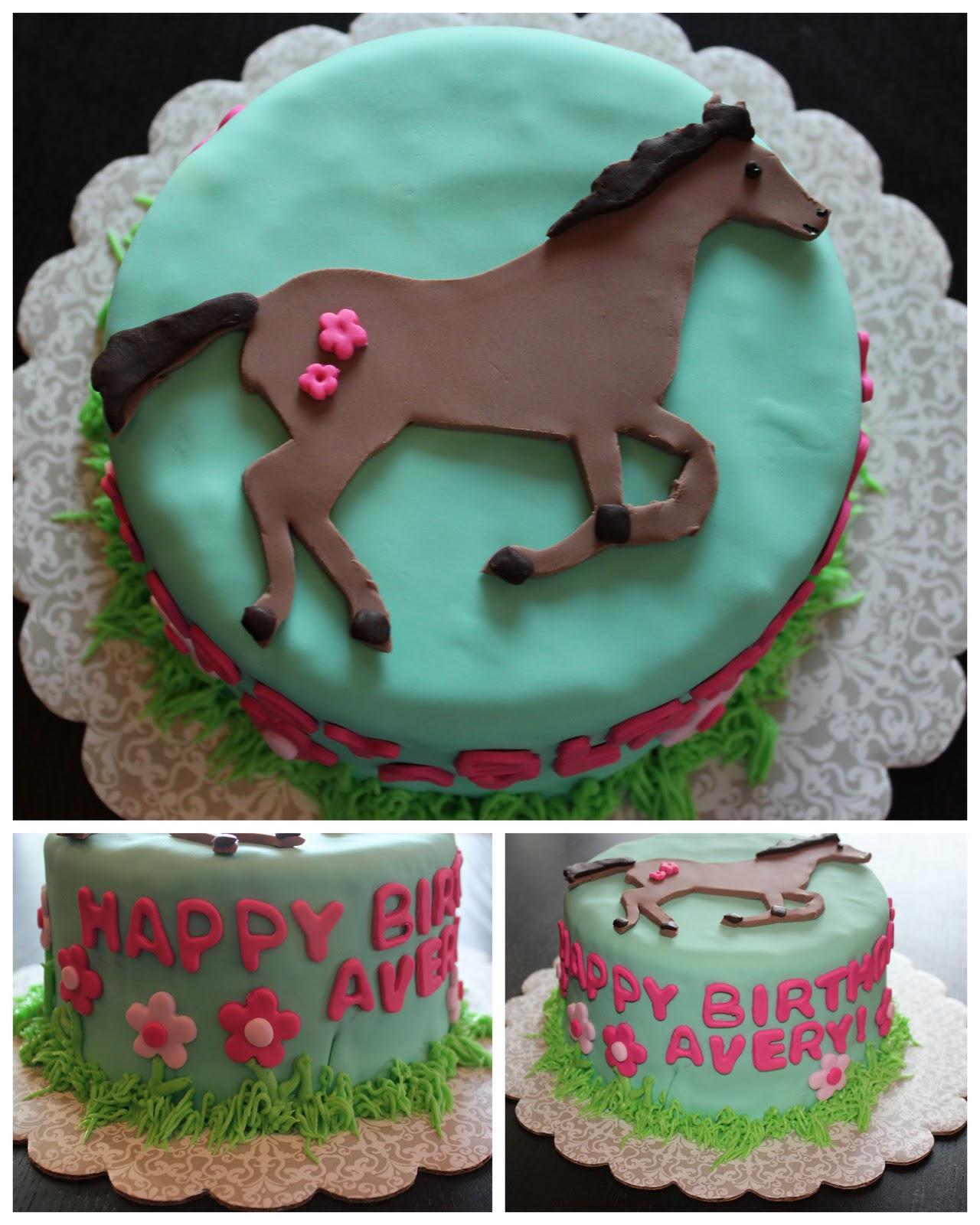 Birthday Cake Horse 2019
