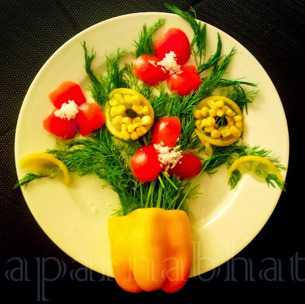 Gallery for easy salad decoration - Kids fruit salad decoration ...