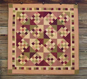 Girl checkerboard quilt  in Play Date Bundle