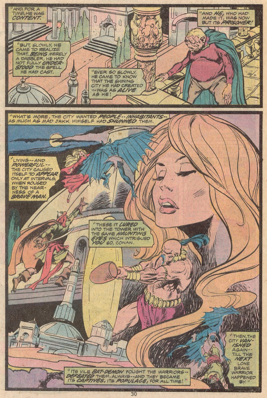 Conan the Barbarian (1970) Issue #56 #68 - English 22