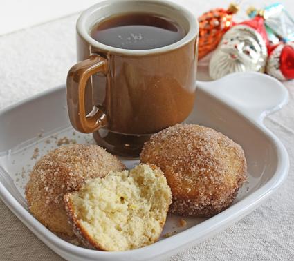FoodBasics101: French Breakfast Puffs - Holiday Muffins Recipe