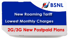 BSNL Cheapest FMC Postpaid Plans Roam Free