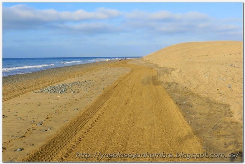 Playa del Inglés, de vuelta