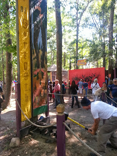 King Richard's Faire Strength Test