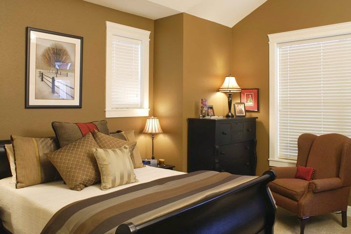 Most popular bedroom wall paint color ideas for Small room wall color