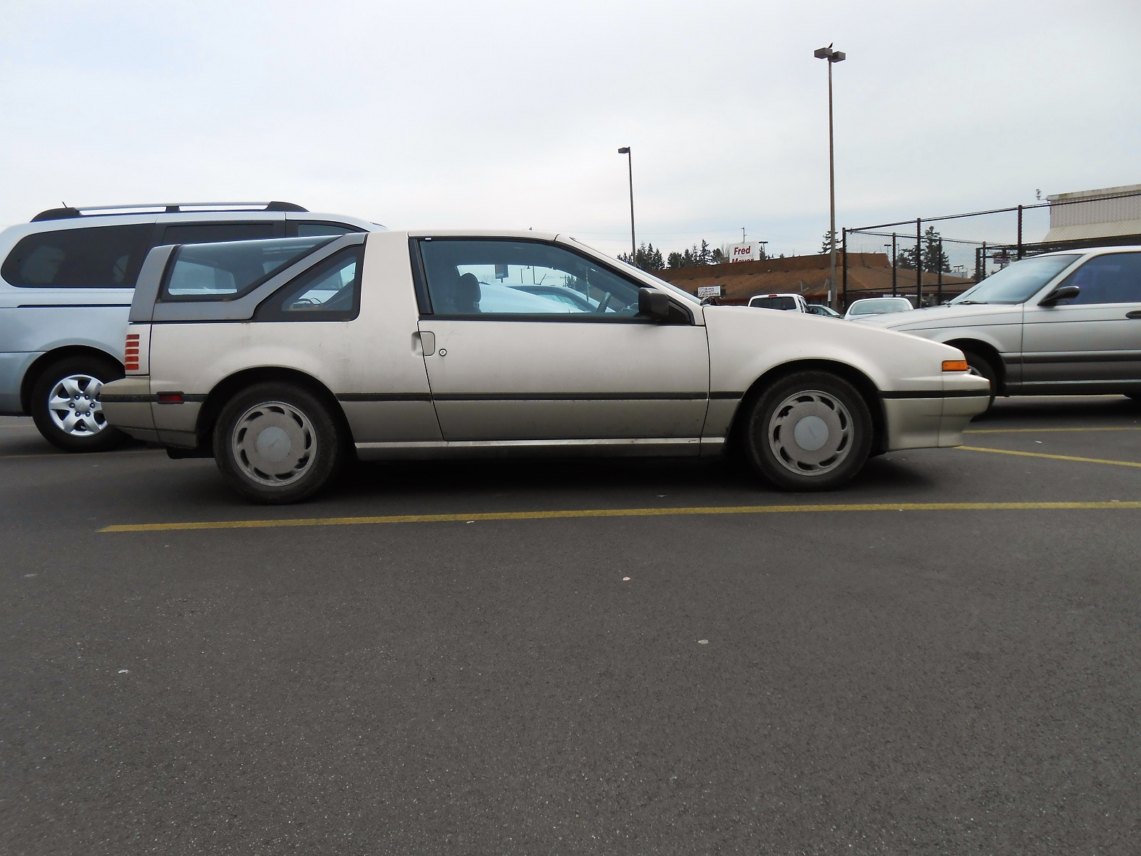 Seattle's Parked Cars: 1988 Nissan Pulsar NX Sportbak