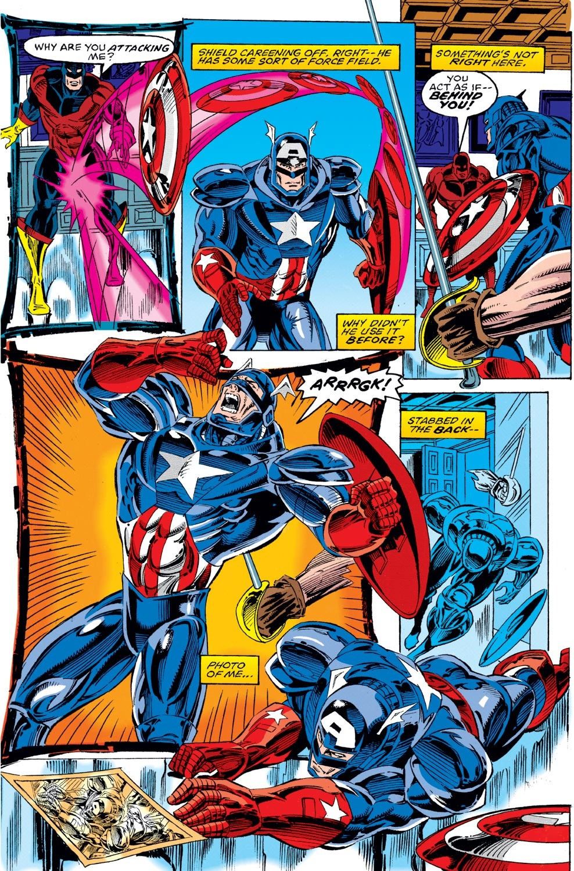 Captain America (1968) Issue #442 #396 - English 17