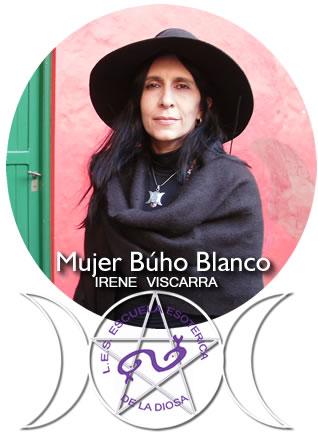 IRENE VISCARRA / MUJER BUHO BLANCO