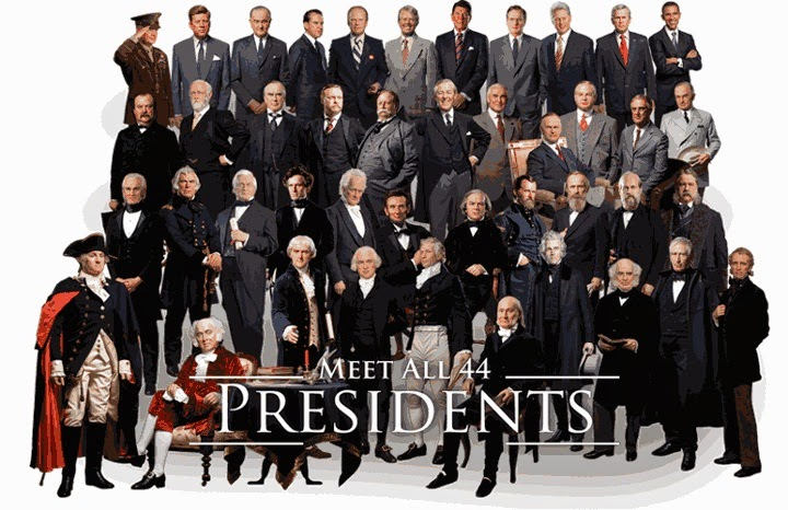 PRESIDENTS OF THE U.S.A.