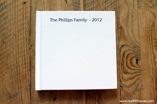 Blurb family photo book