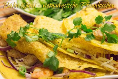 Rezept für vietnamesische Pfannkuchen Banh Khoai