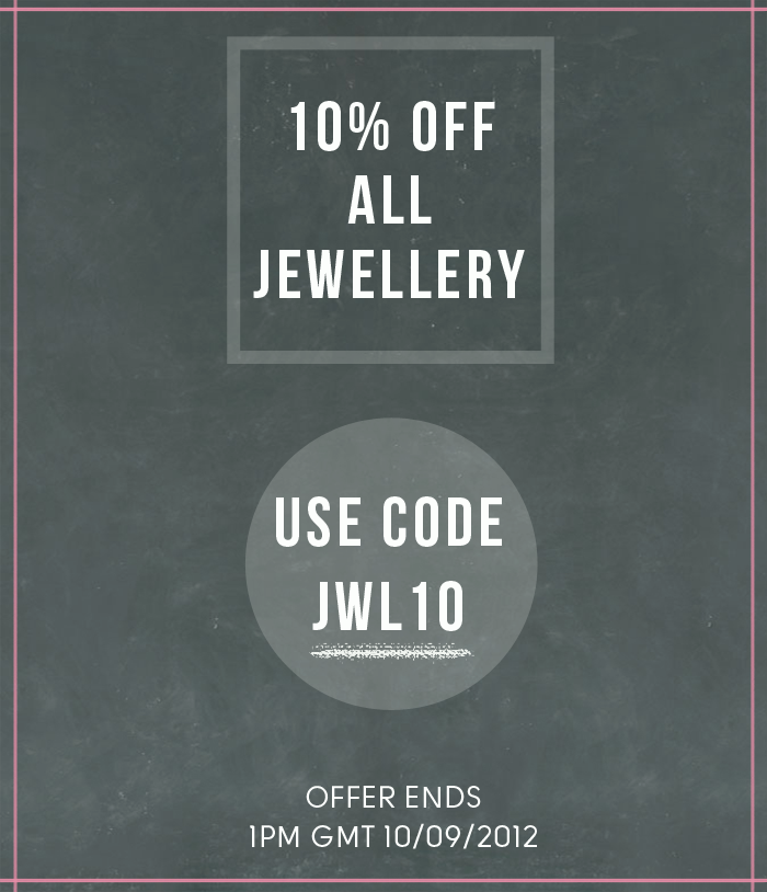 10% off jewellery at Shipshape Studio