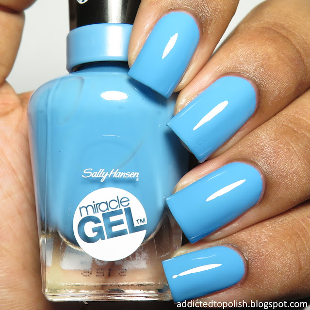 sally hansen miracle gel rhythm and blue