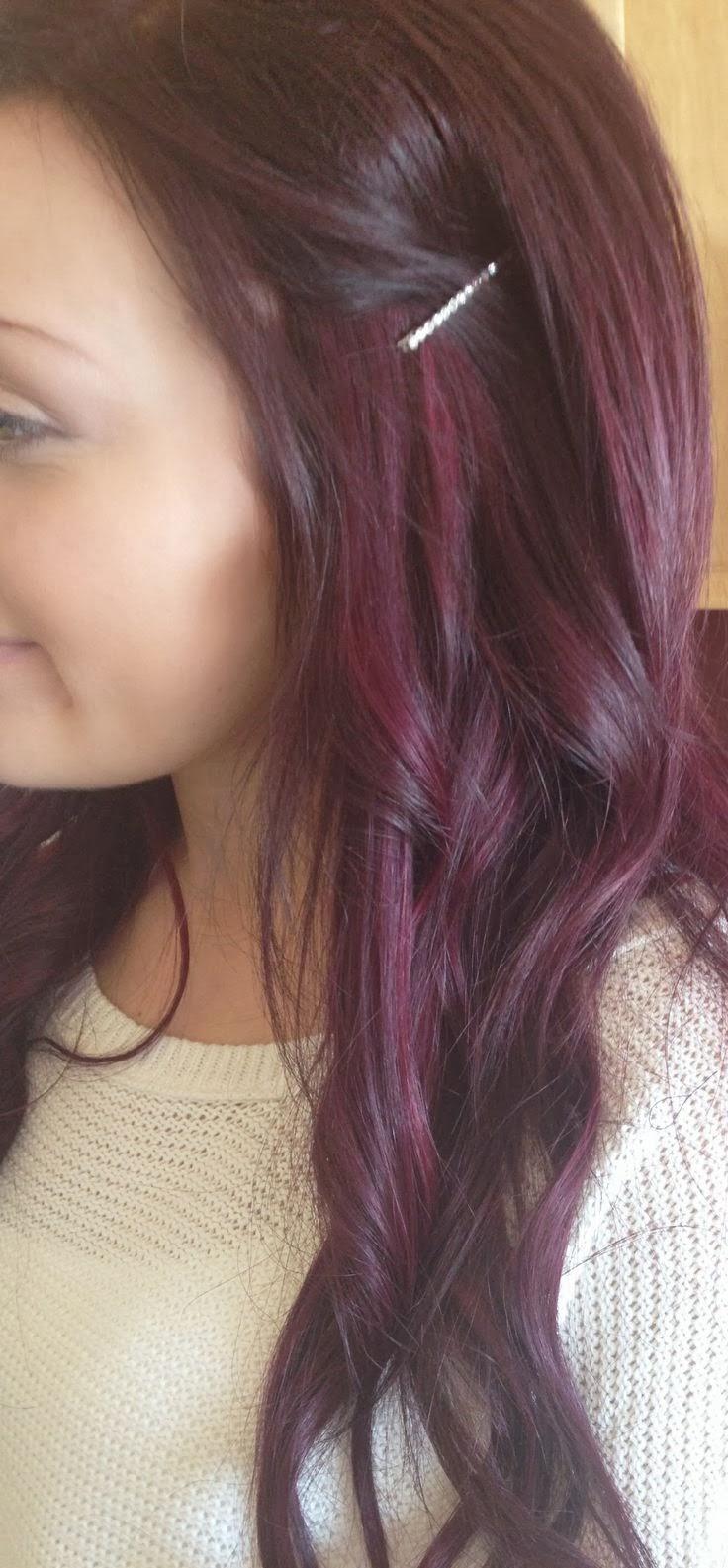 Red Violet Hair Color ...