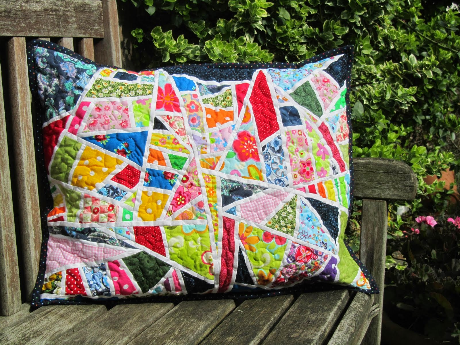Criss-Cross Pillow Tutorial