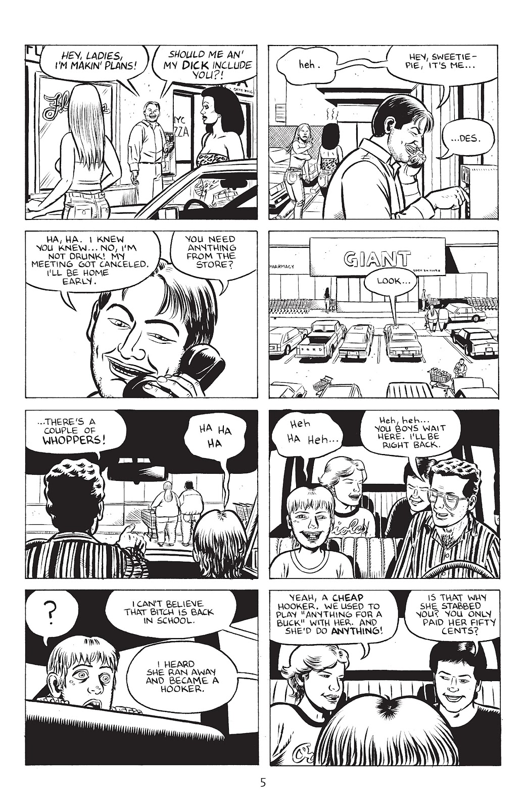 Stray Bullets Issue #32 #32 - English 7