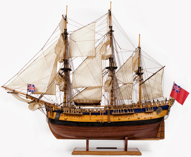 Scale model sailing ship kits uk