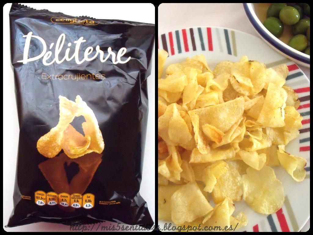 Celigüeta Patatas fritas Degustabox febrero 2014