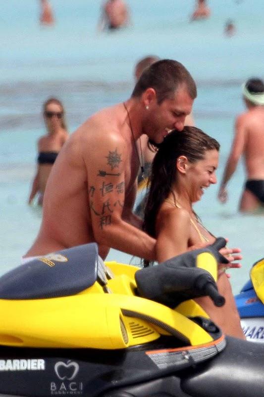 Melissa Satta - Bikini Candids in Formentera Spain