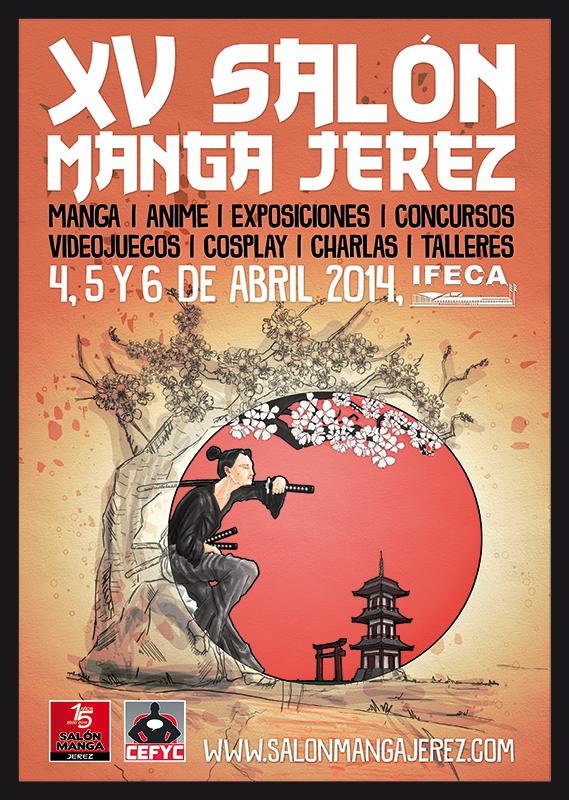 Poster XV Salón del Manga de Jerez