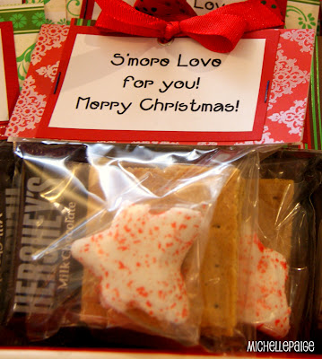 michelle paige blogs: Quick S'mores Gift Idea