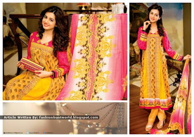 Pearl Lawn Collection 2015 By Falak Fabrics