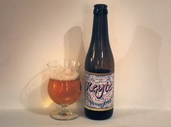 Бельгийское пиво Keyte Ostendse Tripel