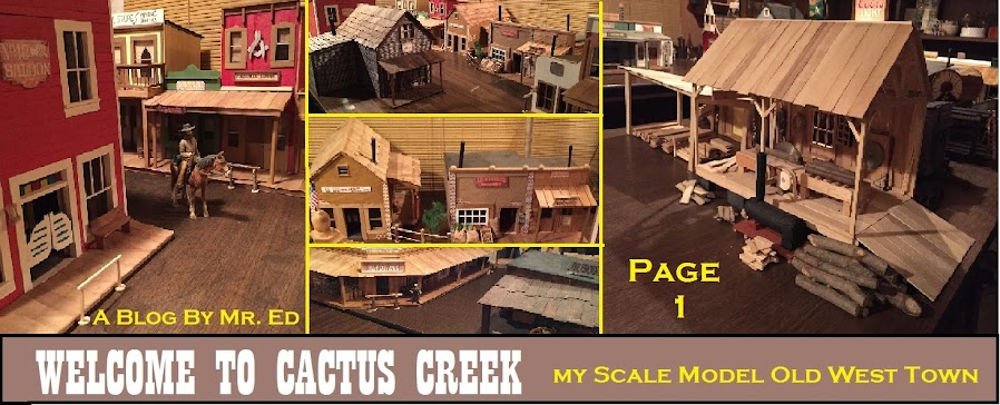 Mr. Ed's Old West Town Scale Model