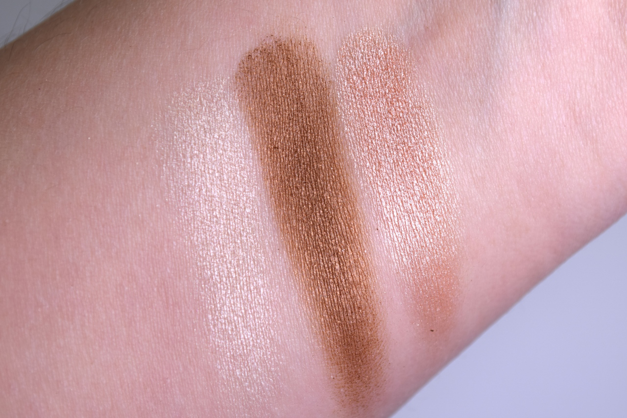 Wet n Wild 'Walking on Eggshells' Eyeshadow Trio Review Swatch