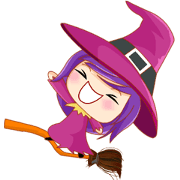 Rin, the funny little witch