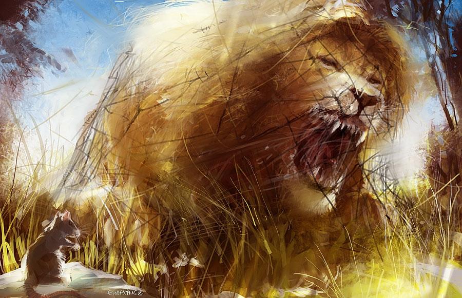 Le blog arcorec novembre 2010 - Image le lion et le rat ...